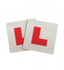 Fully Magnetic L Plates - 2 Pack