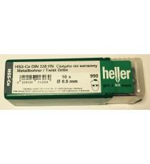 Heller 8.5mm HSS Cobalt Metal Drill Bits - 10 Pack