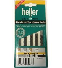 Heller T101AIF Bi-Metal G Wood Jigsaw Blades - 5 Pack