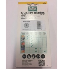Heller UN08 Multi Tool HCS Cutting Blade Wood & Plastic