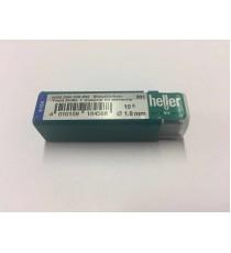 Heller 1.8mm HSS Rolled Twist Metal Drill Bits - 10 Pack