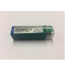 Heller 2.3mm HSS Rolled Twist Metal Drill Bits - 10 Pack