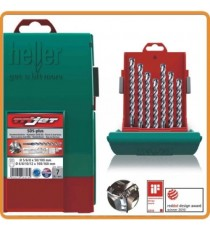Heller SDS-Plus Trijet 7 Piece Hammer Drill Bit Set 5mm - 12mm