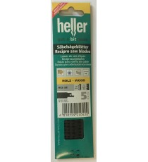 Heller S644D Reciprocating Wood Sabre Saw Blades - 5 Pack