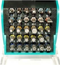 Heller 32 Piece Universal Screwdriver Bit Set