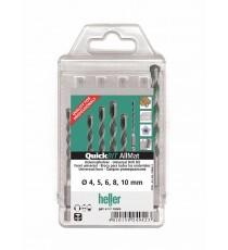 Heller 5 Piece Quickbit AllMat Universal Drill Bit Set