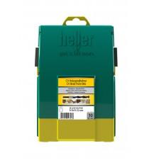 Heller 10 piece CV Brad Point Wood Drill Bit Set 3mm - 12mm