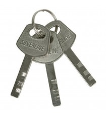 40mm Steel Padlock With 3 Keys
