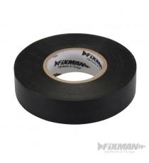 Black Electricians PVC Insulation Tape 19mm x 33m