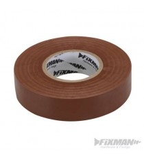 Brown Electricians PVC Insulation Tape 19mm x 33m