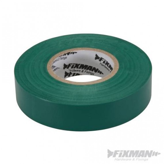 Green Electricians PVC Insulation Tape 19mm x 33m