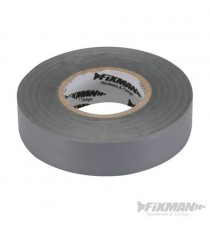 Grey Electricians PVC Insulation Tape 19mm x 33m