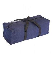 Blue Canvas Tool Bag - 460 x 180 x 130mm