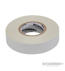 White Electricians PVC Insulation Tape 19mm x 33m