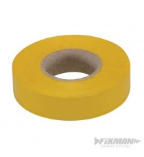 Yellow Electricians PVC Insulation Tape 19mm x 33m