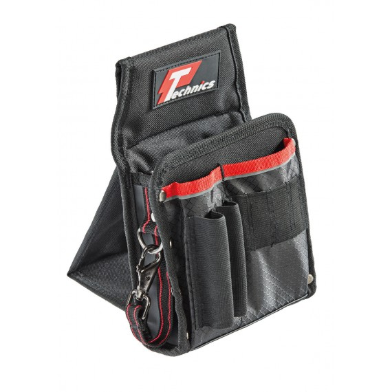 Technics 9 Pocket Tool Pouch With Kick Stand
