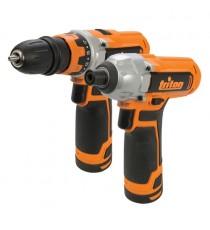 Triton T12 Twin Pack 12V - Drill Driver & Impact Driver