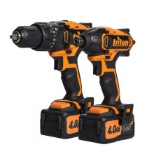 Triton T20 Twin Pack 20V - Combi Hammer & Impact Driver